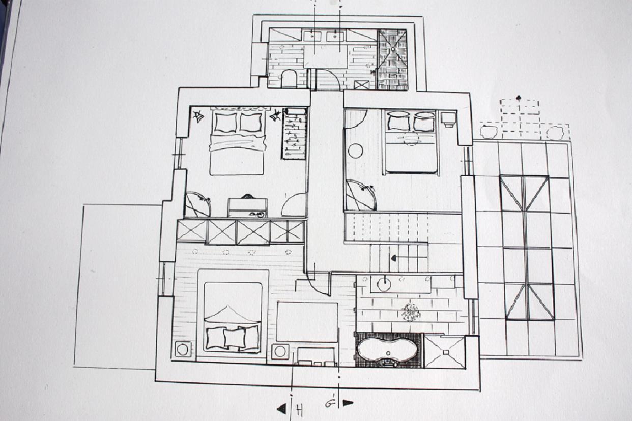 #4E4E59 Projets 3057 plan suite parentale 20m2 1242x828 px @ aertt.com